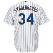 Big & Tall Majestic New York Mets Noah Syndergaard Cool Base Replica MLB Jersey