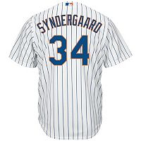 Big & Tall Majestic New York Mets Noah Syndergaard Cool Base Replica MLB Jersey