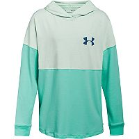 Girls 7-16 Under Armour Colorblock Wordmark Hooded Tee