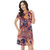 Women's Apt. 9 Printed Knit Dress