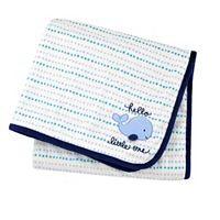 Gerber Reversible Patterned Applique Blanket