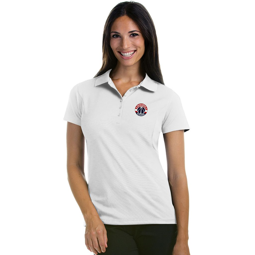 Women's Antigua Washington Wizards Pique Xtra-Lite Polo