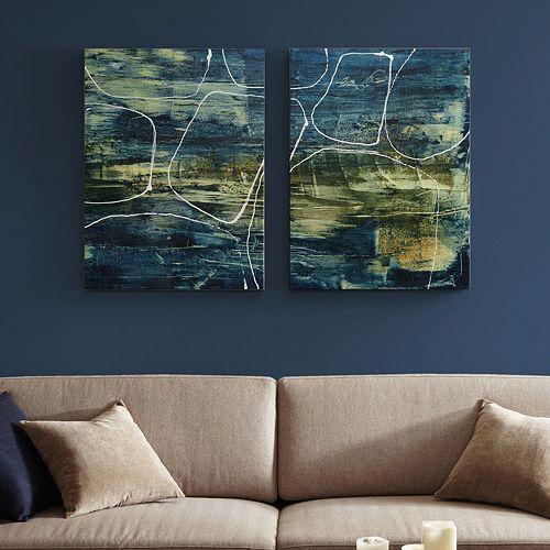 INK+IVY Cool Quarry Canvas Wall Art 2-piece Set