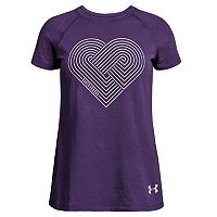 Girls 7-16 Under Armour Geometric Heart Graphic Tee