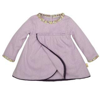 Baby Girl Burt's Bees Baby Organic Pointelle Dress & Leggings Set