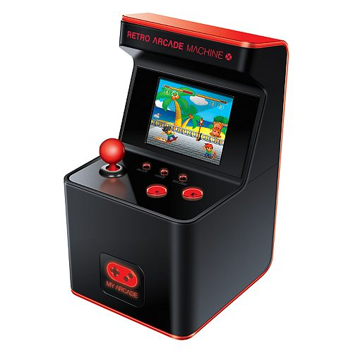 My Arcade Retro Arcade Machine X Portable Gaming System