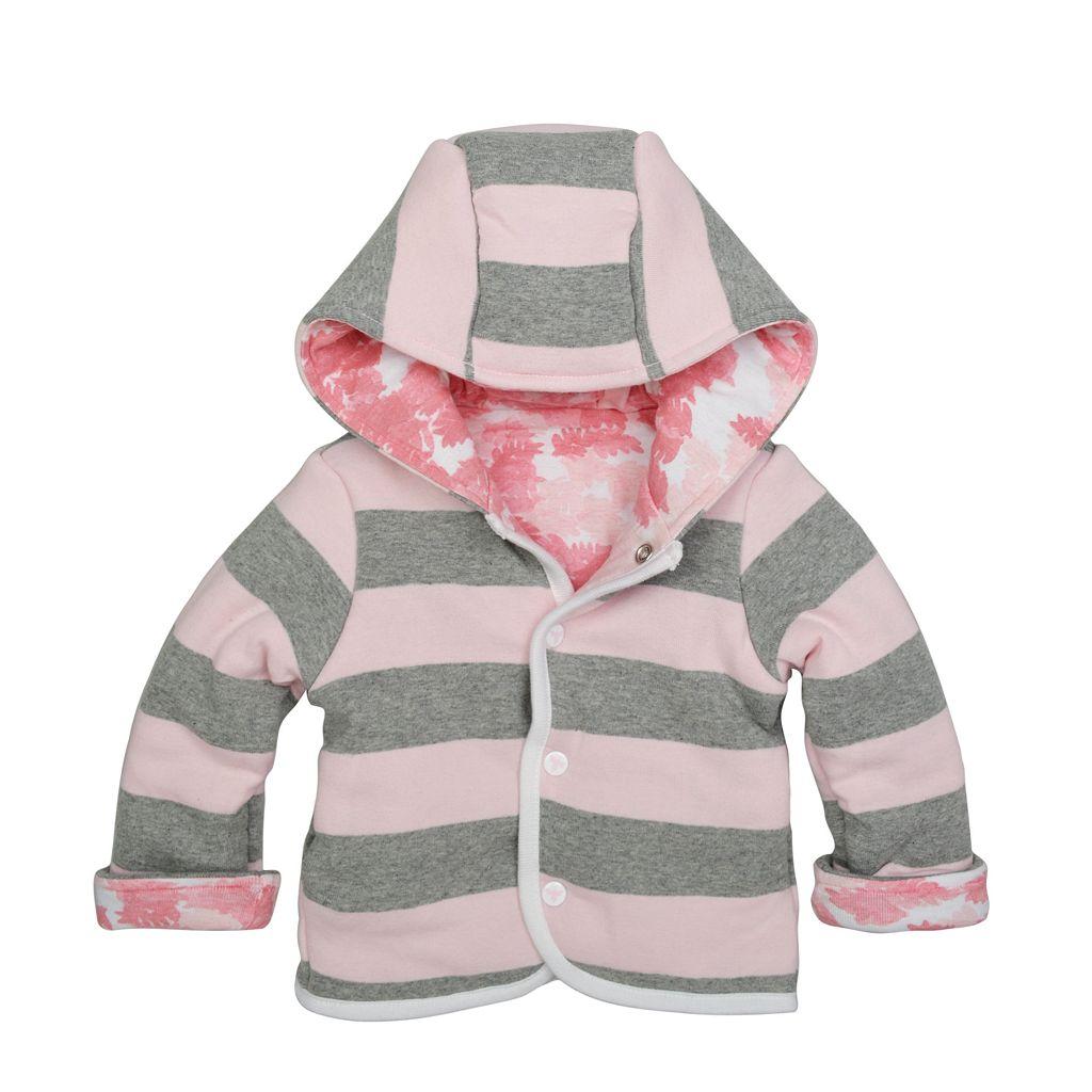 Baby Girl Burt's Bees Baby Organic Reversible Jacket
