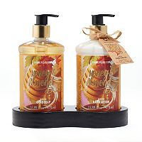 Simple Pleasures Honey Almond Hand Soap & Lotion Set