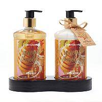 Simple Pleasures Honey Almond Hand Soap & Lotion Set