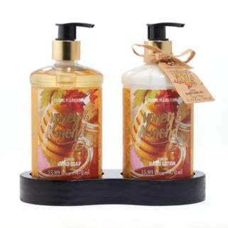 Simple Pleasures Honey Almond Hand Soap and Lotion Set