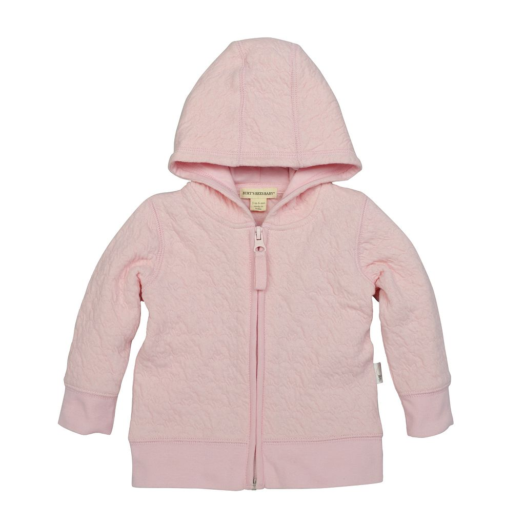Baby Girl Burt's Bees Baby Organic Quilted Bee Jacket