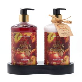 Simple Pleasures Apple Cinnamon Hand Soap and Lotion Set