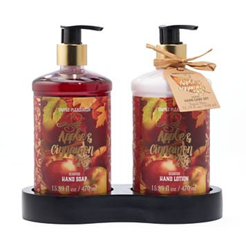 Simple Pleasures Apple Cinnamon Hand Soap & Lotion Set