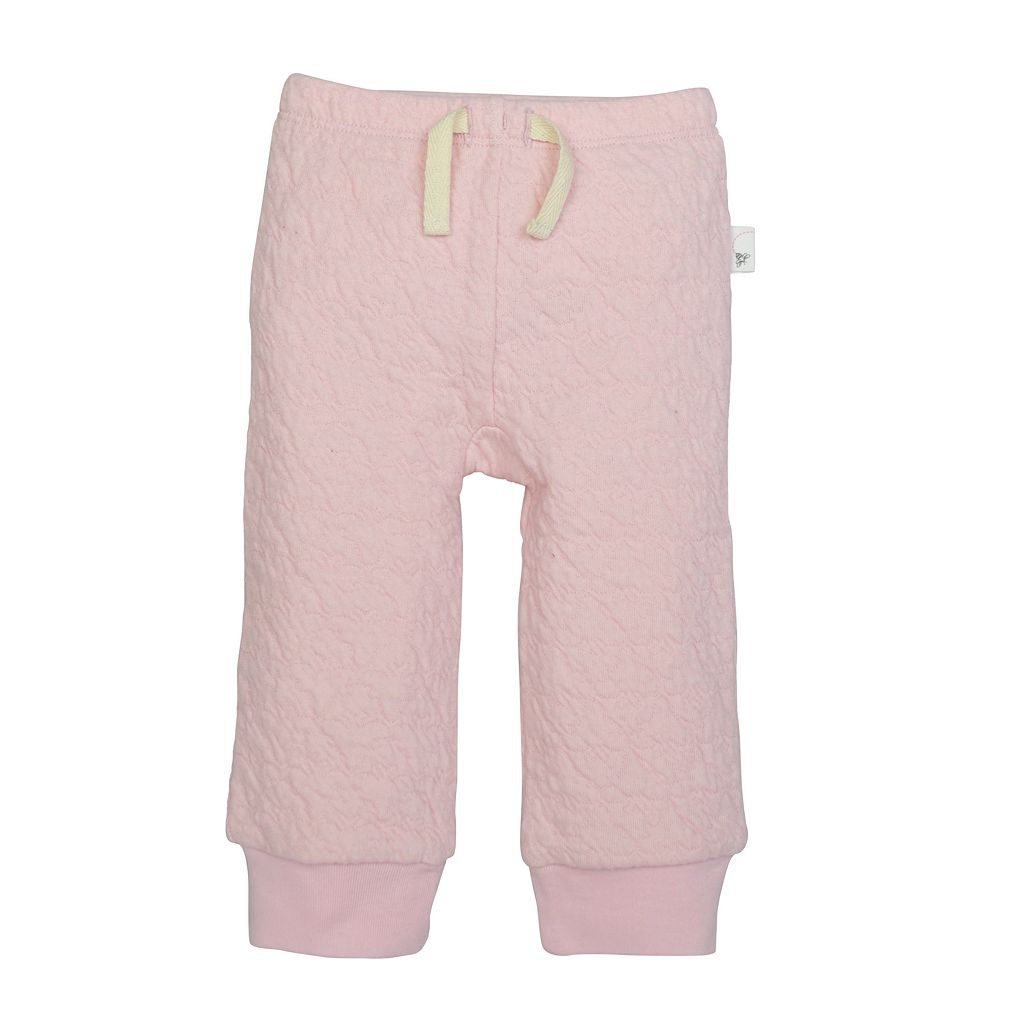Baby Girl Burt's Bees Baby Organic Quilted Bee Pants