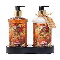 Simple Pleasures Pumpkin Harvest Hand Soap & Lotion Set
