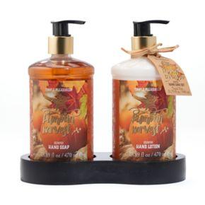 Simple Pleasures Pumpkin Harvest Hand Soap and Lotion Set