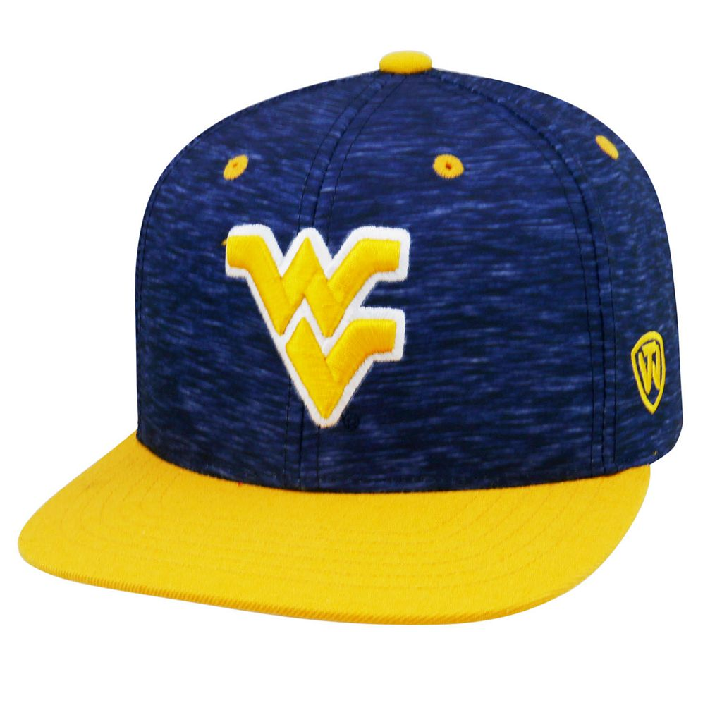 Adult Top of the World West Virginia Mountaineers Energy Snapback Cap