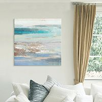 Cabana Waves Canvas Wall Art
