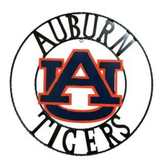 Auburn Tigers 18-Inch Wrought Iron Wall Décor