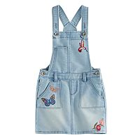 Girls 4-12 SONOMA Goods for Life™ Patch Denim Jumper