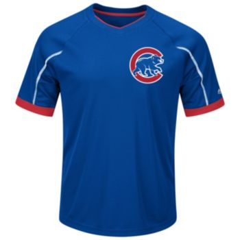 Big & Tall Majestic Chicago Cubs Pro Tee