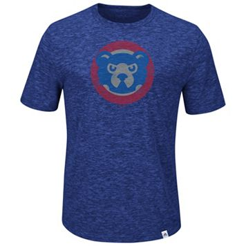 Big & Tall Majestic Chicago Cubs Hyper Class Tee