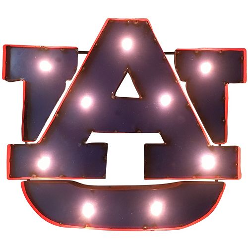 Auburn Tigers Light-Up Wall Décor