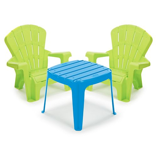 little tikes garden table chairs set. Black Bedroom Furniture Sets. Home Design Ideas