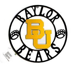 Baylor Bears 32-Inch Wrought Iron Wall Décor