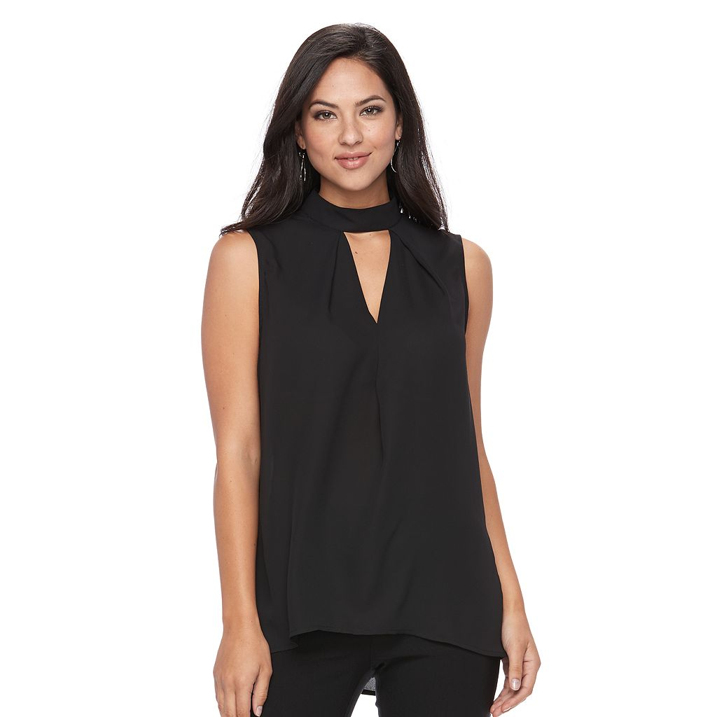 Women's Apt. 9® Cutout Mockneck Top
