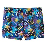 Girls 4-14 Jacques Moret Splatter Metallic Shorts