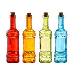 Style Setter SoHo 4-pc. Colored Bottles Set
