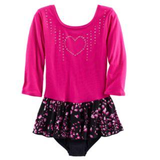 Girls 4-14 Jacques Moret Embellished Falling Petal Skirtall