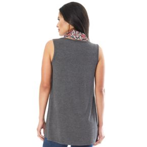 Women's Apt. 9 Scarf Tank Top