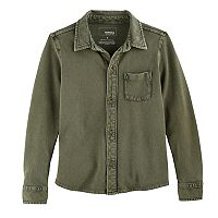 Boys 4-7x SONOMA Goods for Life™ Pique Button Down Shirt