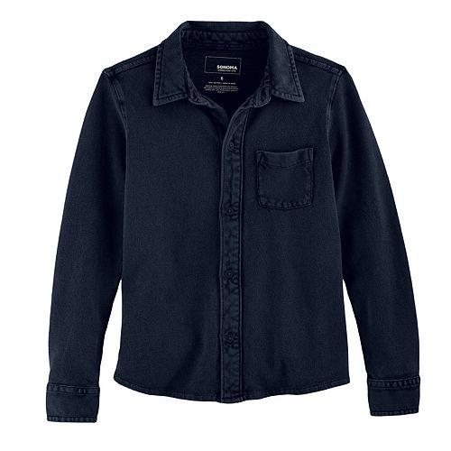 Boys 4-7x SONOMA Goods for Life™ Pique Button Down Shirt