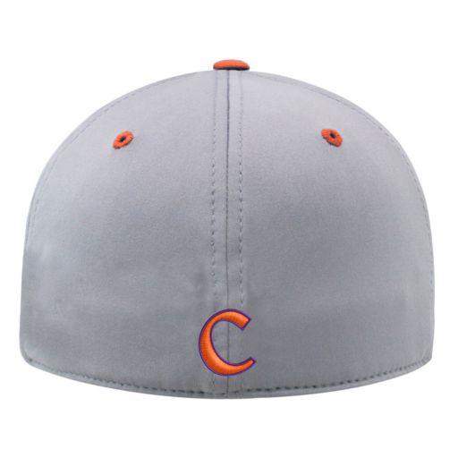 Adult Clemson Tigers Steam Performance Adjustable Cap