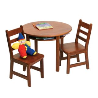 Lipper Round Table and Chairs Set