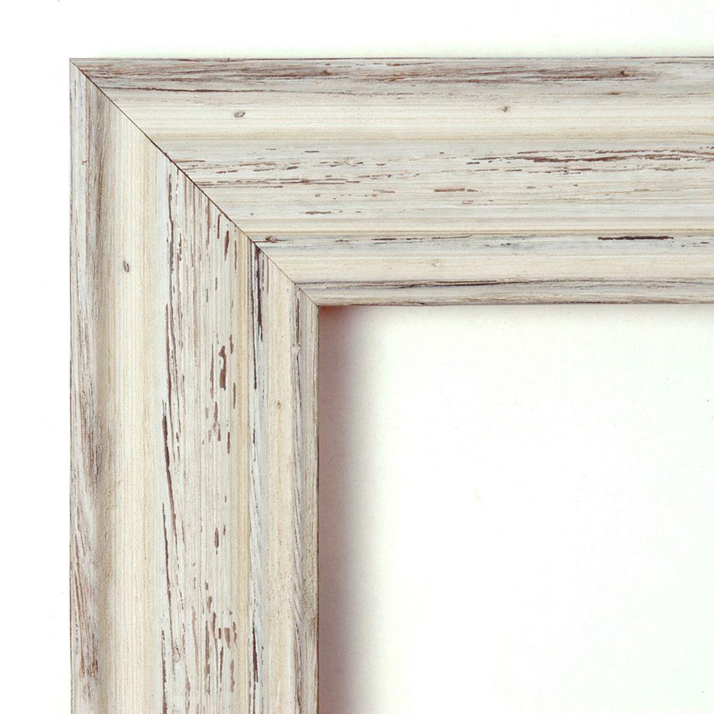 Amanti Art Country White Wash Framed Liquid Chalkboard Wall Decor