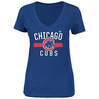 Plus Size Majestic Chicago Cubs Team Pride Tee