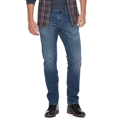 Men's Apt. 9 Premier Flex Slim-Straight Fit Stretch Jeans