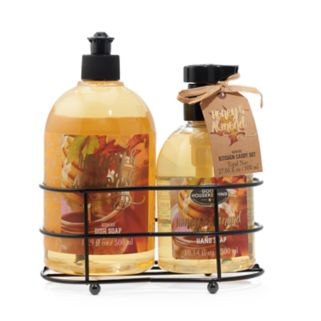 Simple Pleasures Honey Almond Hand Soap and Dish Soap Set