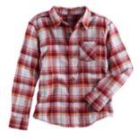 Boys 4-7x SONOMA Goods for Life™ Plaid Button Down Shirt