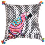 Thro by Marlo Lorenz Iago Parrot Throw Pillow