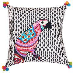 Thro by Marlo Lorenz Iago Parrot Throw Pillow