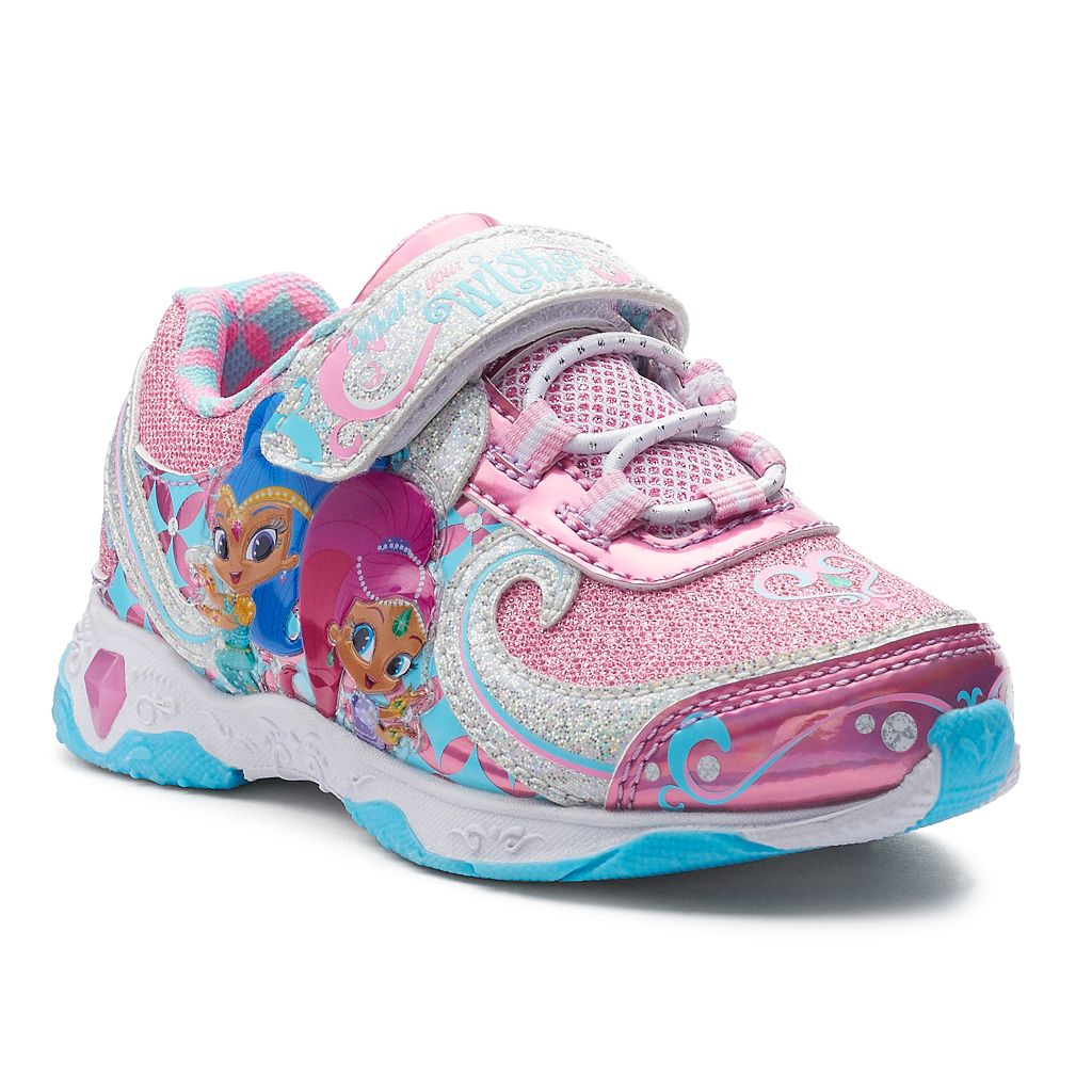 Shimmer Shine Toddler Girls' Light-Up Sneakers