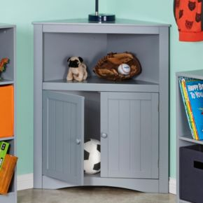 RiverRidge Kids 2-Door Corner Storage Cabinet