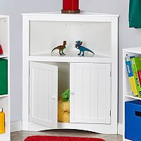 RiverRidge Kids 2-Door Corner Storage Cabinet