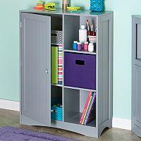 RiverRidge Kids 1-Door Cubby Storage Cabinet