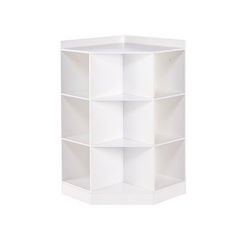 RiverRidge Kids Cubby Corner Storage Cabinet